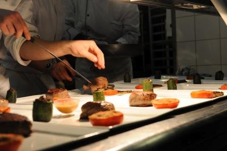 Restaurant de l'hôtel de Guyenne à Talence plats en cuisine