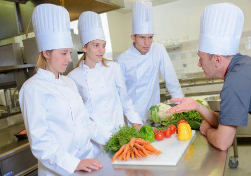 cuisine de l'Hôtel de Guyenne à Talence les cuisiniers