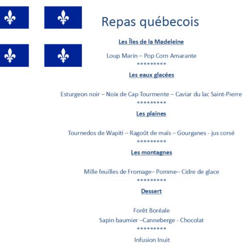 Repas Québec