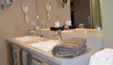 Suite haut de gamme salle de bains