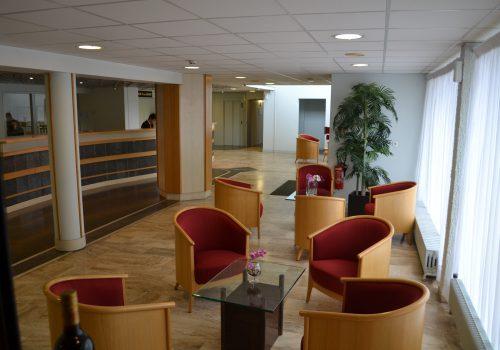 hôtel de Guyenne hall lumière naturelle