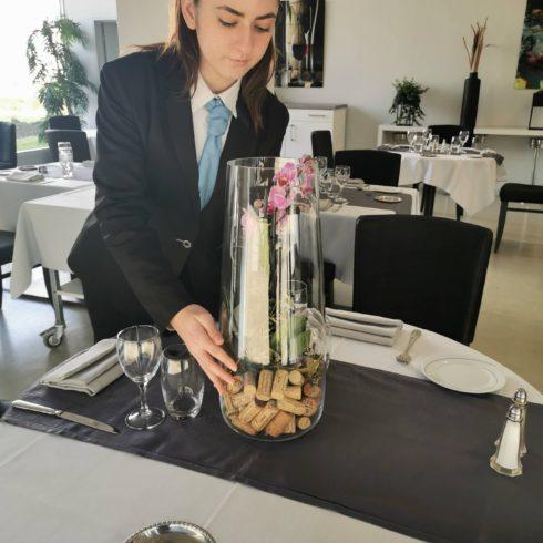 concours du meilleur jeune maître d'hôtel à Talence